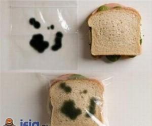 Antykradzieżowe pomysły - torebka na kanapkę
