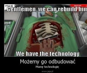 Możemy go odbudować