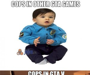 Policja w GTA