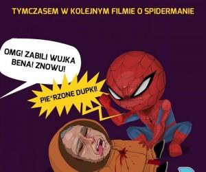 Tymczasem w kolejnym filmie o Spidermanie
