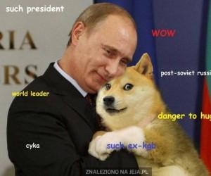 Putin taki groźny, wow