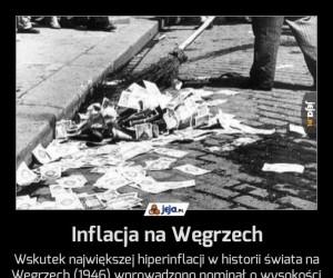 Inflacja na Węgrzech