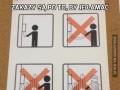 Zakazy są po to, by je łamać