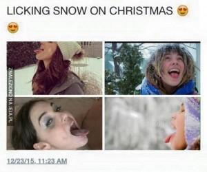 Lubię śnieg