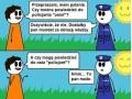 Troll na policjanta