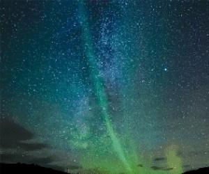 Zdjęcia zorzy polarnej