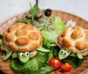 Żółwiowe kanapki