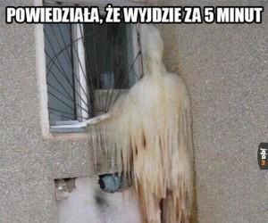 Gdy czekasz na dziewczynę na dworze