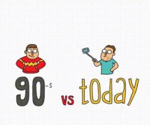 Lata 90-te vs dziś