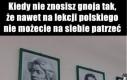 Julek, ić stond