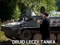 Druid leczy tanka