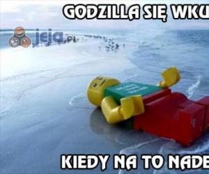 Godzilla się wkurzy