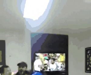 Stracił i telewizor i kumpli