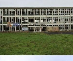 """Doskonały """"wandalizm"""" w opuszczonym budynku szkoły"""