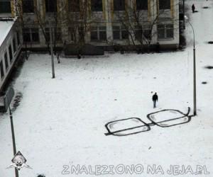Iluzja na śniegu - Okulary