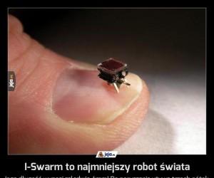 I-Swarm to najmniejszy robot świata