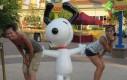 Snoopy jest zadowolony