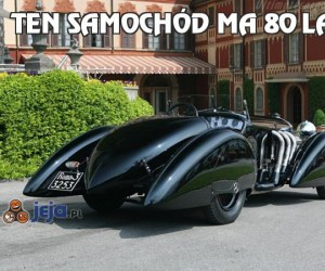 Ten samochód ma 80 lat