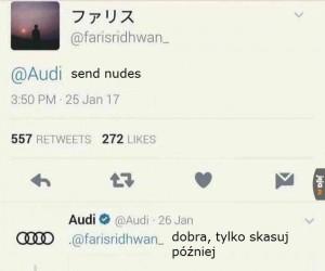 Audi, Wy zboczuszki!