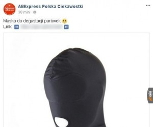 Maska degustacyjna