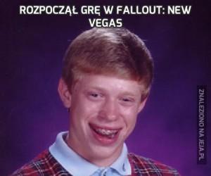 Rozpoczął grę w Fallout: New Vegas