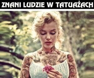 Znani ludzie w tatuażach