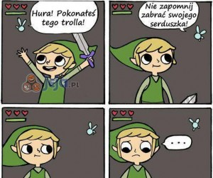 Link zdobywa serce