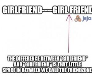 """Różnica między """"girlfriend"""" a """"girl friend"""""""