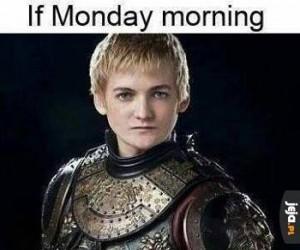 Gdyby poniedziałek był osobą