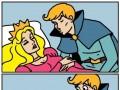 Chyba ktoś wcześniej odwiedził Śpiącą Królewnę