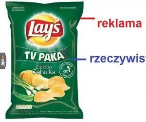 Reklama vs rzeczywistość