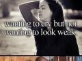 Płacz twardziela