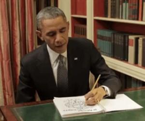 Obama w wolnych chwilach