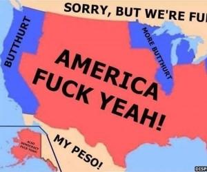 Mapa Ameryki Północnej po ostatnich wyborach