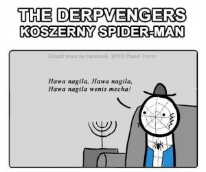 Koszerny Spider-man