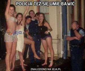 Policja też się umie bawić