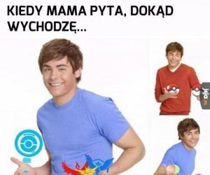 Mamo, idę łapać Charizarda!