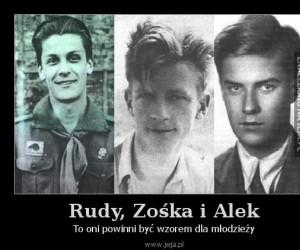 Rudy, Zośka i Alek