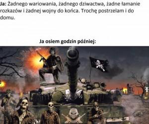 Całe życie na wojnie