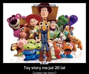Toy story ma już 20 lat