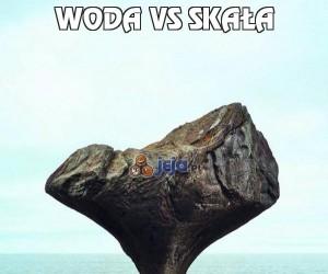 Woda vs Skała