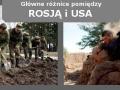 Rosja vs USA - Szkolenie żołnierzy