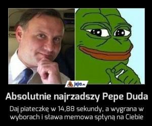 Absolutnie najrzadszy Pepe Duda