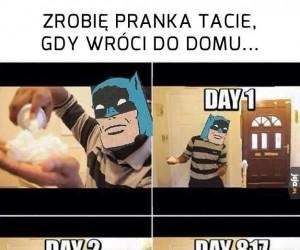 Batman robi pranka!