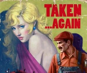 Gdyby Mario był bohaterem starych komiksów