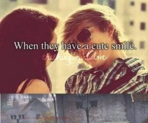 Chłopcy z ładnym uśmiechem