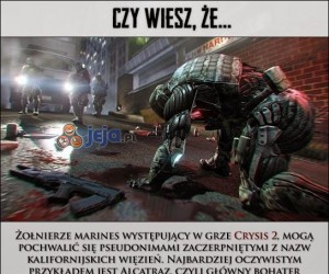 Ciekawostki o Crysis