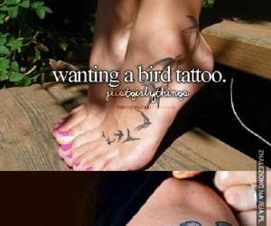 Tatuaż z ptakami