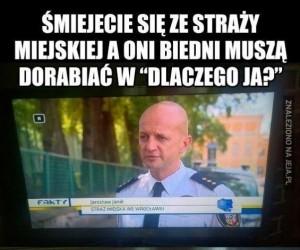 Nie śmiej się ze straży miejskiej!