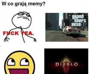 W co grają memy?